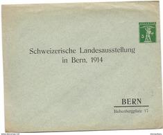 """231 - 19 - Entier Postal Privé Neuf """"Schweizerische Landeausstellung In Bern 1914"""" - Entiers Postaux"""