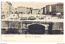 Ricordo Di Livorno - Piazza Carlo Alberto. - Livorno