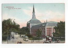 Den Haag - Hooge Wal Met Kon Stallen - Tram - 1915 - Den Haag ('s-Gravenhage)