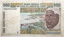 Guinée-Bissau - 500 Francs - 1998 - PICK 910 Sc - TB+ - Guinea-Bissau