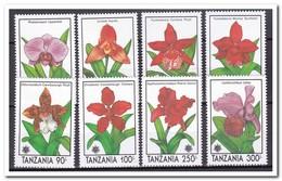 Tanzania 1991, Postfris MNH, Flowers, Orchids - Tanzania (1964-...)