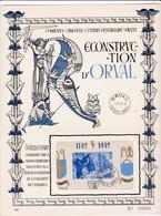 Feuillet Orval Bloc 12 - Hojas