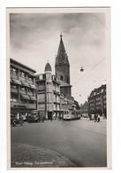 Den Haag - Torenstraat - Tram - 1955 - Den Haag ('s-Gravenhage)