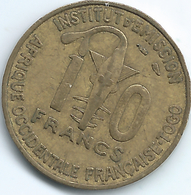 French West Africa / Togo -  10 Francs - 1957 - KMA8 - Togo
