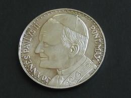 Médaille Vatican - JOANNES PAULUS II PONT.MAX - ROMA CITA DEL VATICANO   **** EN ACHAT IMMEDIAT **** - Royal/Of Nobility