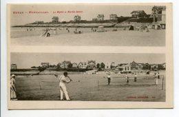 17 ROYAN PONTAILLAC Une Partie De Tennis Sur La Plage Matin Marée Basse   Villas  1900     D07 2020 - Royan
