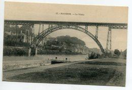 53 MAYENNE Canal Ecluse Le Viaduc Pont De Fer Type Eiffel  1920  D07 2020 - Mayenne