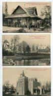 59 ROUBAIX 3 Cartes Officieles (voir Dos )   Exposition Inernationale 1911  Pavillons Afrique Occidentale Equ  D07 2020 - Roubaix