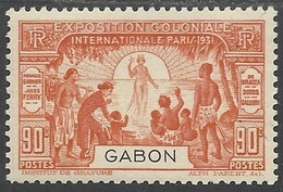 GABON 1931 YT 123** - Neufs