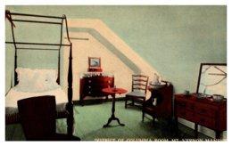 Virginia .  District Of Columbia Room  Mt.Vernon Mansion - Alexandria