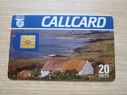 Chip Phonecard,cottage,used(backside Without Barcode) - Irlande