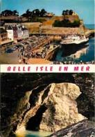 56 - Belle Ile En Mer - Multivues - Bateaux - Automobiles - Voir Scans Recto-Verso - Belle Ile En Mer