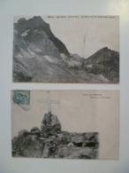 CPA / Lot De 2 Cartes Postales Anciennes / Italie Monviso 1909 - Italie