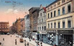 "010352 ""POLONIA - OPPELN RING - FRANZ BARON - ALBERT HOEHN"" ANIMATA, PIAZZA DEL MERCATO.  CART SPED 1920 - Poland"