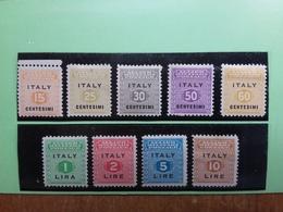 OCCUPAZIONE ANGLO-AMERICA DELLA SICILIA - Nn. 1/9 Serie Completa Nuova* + Spese Postali - Anglo-american Occ.: Sicily