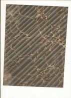 Lot 4 , Papier Marbrée Ancien ,2 Feuilles Caillouté Vert, Gris Et Blanc  ,Restauration 1880 - Loisirs Créatifs