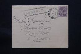 """ROYAUME UNI - Griffe """" Paquebot """" Sur Enveloppe Pour Londres En 1902, Oblitération De Fremantle Sur Victoria - L 58396 - Poststempel"""