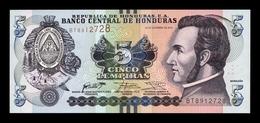 Honduras 5 Lempiras 2016 Pick 98b New SC UNC - Honduras