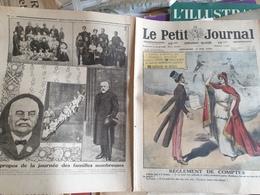 P.J. 20 / CASTELNAU FAMILLE COGNAC ENFANTS MANGIN ETIENNE LAMY /FRANCE MARIANNE ETATS UNIS REGLEMENT DE COMPTES - 1900 - 1949