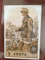"III. Reich, Propaganda Karte "" KRETA "" Feldpostkarte - Weltkrieg 1939-45"