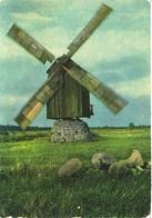 Estonia:Saaremaa Island, Windmill, 1968 - Moulins à Vent