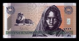Somalilandia Somaliland 1000 Shillings 2006 Pick CS1 SC UNC - Banconote
