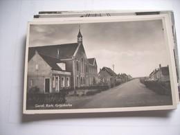 Nederland Holland Pays Bas Grijpskerke Met Gereformeerde Kerk En Omgeving - Paesi Bassi