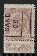 Gentr 1909  Nr.  1385A Tanding Boven - Préoblitérés