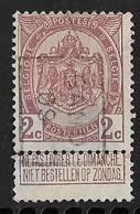 Gentr 1909  Nr.  1385B Dunne Plek - Préoblitérés