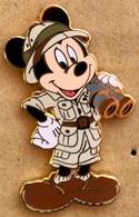 MICKEY MOUSE - SOURIS - MAUS - WALT DISNEY - EXPLORATEUR - JUMELLES - SAFARI - DISNEYLAND -           (24) - Disney