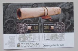 Bosnie Herz.(kroatie Post Mostar)2020 Cept PF Block+stamps - 2019