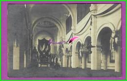 CPA - 50 - GRANVILLE -  Carte Photo Intérieur De L'Eglise Saint Paul Fête De Jeanne D'Arc - Granville