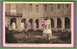 CPA - 39 - LONS LE SAUNIER - La Cour De L'Hopital - Oblitéré 1939 - Lons Le Saunier