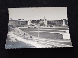 Ancienne Carte Postale Photo Cpsm Abidjean La Place Lapalud - Côte-d'Ivoire