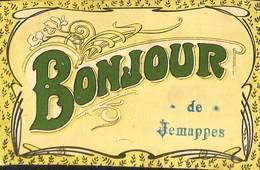 025 969- CPA - Belgique - Bonjour De Jemappes - Autres