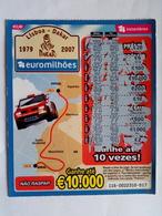 Loterie Instantanée Lisboa/ Dakar 2007 - Billets De Loterie