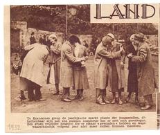 Orig. Knipsel Magazine - Jaarlijkse Markt Der Jonggezellen Te Ecaussines - 1932 - Unclassified