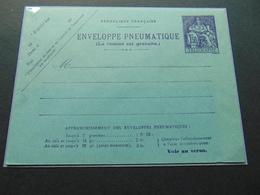 Très Belle Enveloppe Pneumatique à 1,50fr N°. N3 (Storch) Neuve - Entiers Postaux