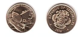Seychelles - 5 Cents 2016 UNC Lemberg-Zp - Seychelles