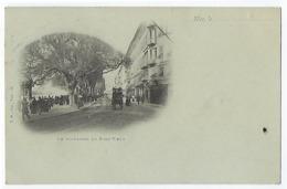 CPA 06 Alpes Maritimes Nice Le Boulevard Du Pont Vieux Carte Précurseur Diligence Rails De Tram Tramay 1901 - Nice