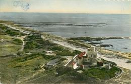 PHL Photo Cpsm 17 ILE DE RE. Le Sémaphore Et écluses à Poissons 1952 - Ile De Ré