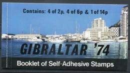 Gibraltar Mi# 310-2 Booklet Postfrisch/MNH - UPU 1974 - Gibilterra