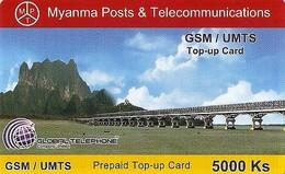 *MYANMAR* - Scheda Usata - Myanmar (Burma)