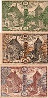 AUSTRIA NOTGELD- Österreich-10,20,50 Heller 1920- Stefanshart  CIRC.-UNC - Austria