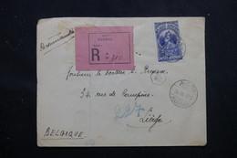 ETHIOPIE - Enveloppe En Recommandé De Harrar Pour La Belgique , Affranchissement Plaisant Recto / Verso - L 58405 - Ethiopia