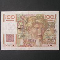 100 Francs Jeune Paysan 4.3.1954 , TTB - 1871-1952 Circulated During XXth