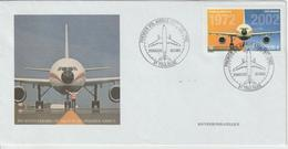 France FDC 2002 Airbus A300 PA 65 - 2000-2009