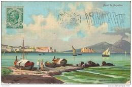 ITALIE    NAPOLI . Da  MERGELLINA  ( Edit FABIO °) - Napoli (Naples)