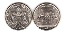 Serbia - 10 Dinara 2007 UNC Lemberg-Zp - Servië