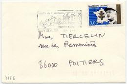 France N° 3126 Y. Et T. Oise Crépy En Valois Flamme Illustrée Du 29/01/1998 - Marcofilia (sobres)